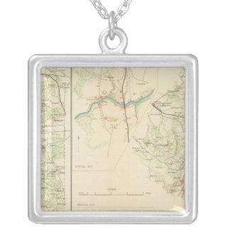 Spotsylvania County Hanover Junction Silver Plated Necklace