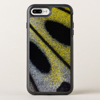 Spotted and yellow butterfly wing OtterBox symmetry iPhone 7 plus case