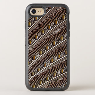 Spotted Argus pheasant feather OtterBox Symmetry iPhone 7 Case
