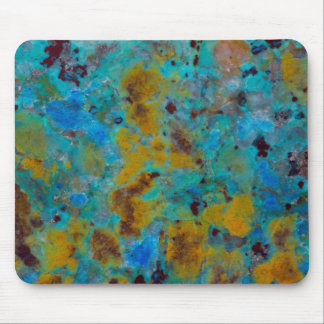 Spotted Blue Chrysocolla Jasper Mouse Mat