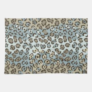 Spotted Cat Pattern Tea Towel