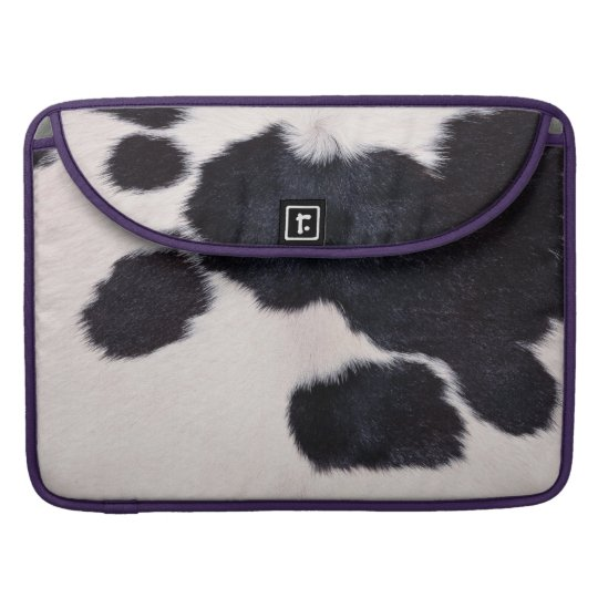 SPOTTED COW HIDE SLEEVE FOR MacBook PRO