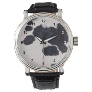 SPOTTED COW HIDE WATCHES