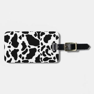 Spotted Cow Print, Cow pattern, Animal fur Luggage Tag