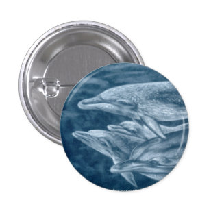 Spotted Dolphins Pin