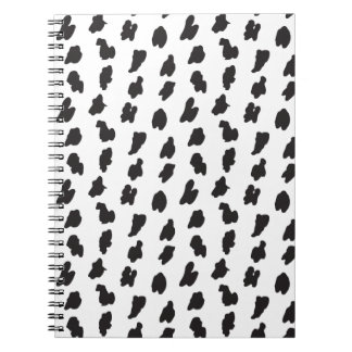 Spotted doodle notebook