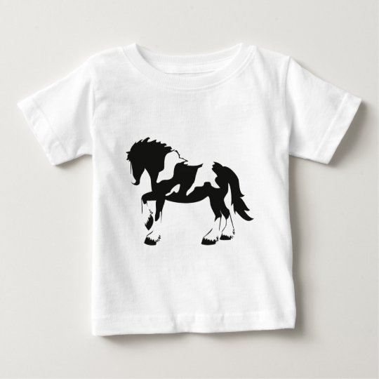 Spotted Draught   Horse Baby T-Shirt