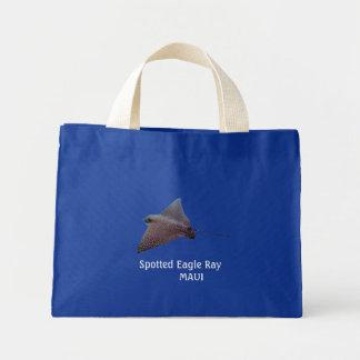 Spotted Eagle Ray  MAUI Mini Tote Bag