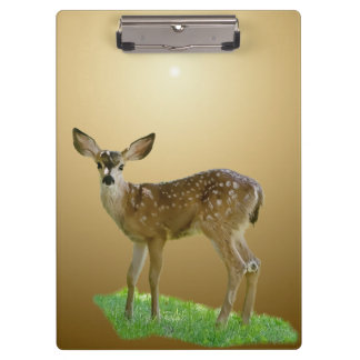 SPOTTED FAWN CLIPBOARD