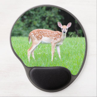 Spotted Fawn Photo Gel Mouse Pad