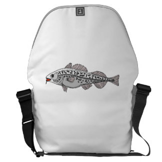 Spotted Fish Messenger Bags