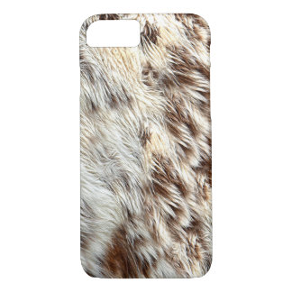 Spotted Horse / Cow Hide / Animal Fur-Look Image iPhone 8/7 Case