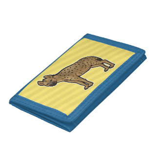 Spotted Hyena Tri-fold Wallet
