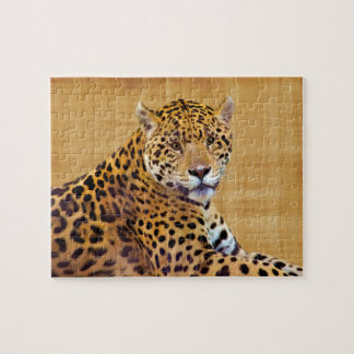 Spotted Jaguar Big Cat-lover #Gift Jigsaw Puzzle