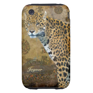 Spotted Jaguar & Temple Animal-Lover iPhone Case