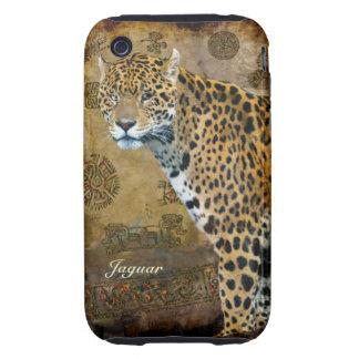 Spotted Jaguar & Temple Animal-Lover iPhone Case