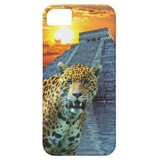 Spotted Jaguar Wildlife & Temple iPhone 5 Case