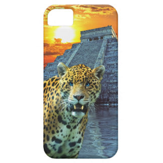 Spotted Jaguar Wildlife & Temple iPhone 5 Case