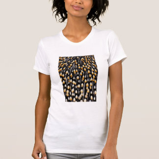 Spotted jungle cock feathers T-Shirt