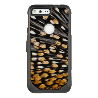 Spotted Jungle Fowl Feather Abstract OtterBox Commuter Google Pixel Case