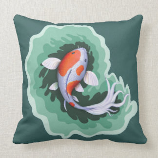 Spotted Koi Fish Cushion