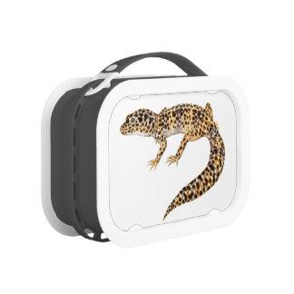 Spotted Leopard Gecko Lizard Lunchbox