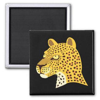 Spotted Leopard Magnet