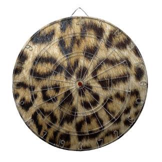 Spotted Leopard Skin Dart Board