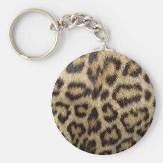 Spotted Leopard Skin Key Chain