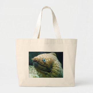 Spotted Moray Eel Large Tote Bag
