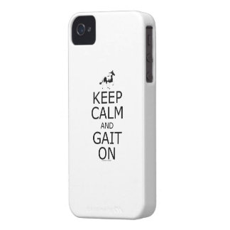 Spotted Mountain Horse Keep Calm Gait On iPhone 4 Case-Mate Cases