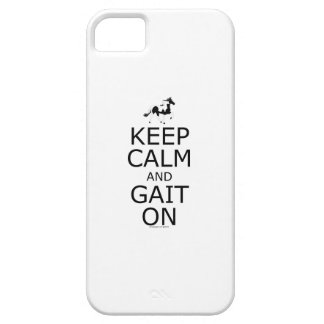 Spotted Mountain Horse Keep Calm Gait On iPhone 5 Cover