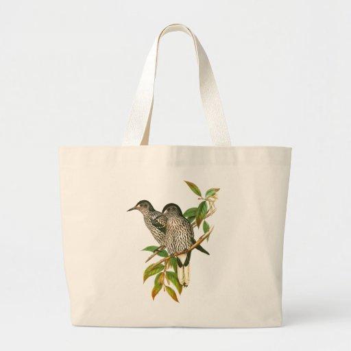 Spotted Nutcracker Canvas Bag