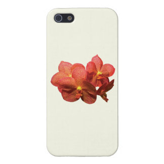 Spotted Orange Orchid iPhone 5 Case
