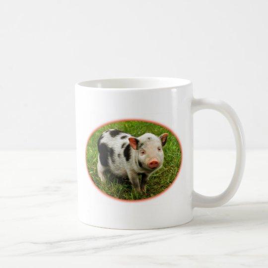 Spotted piglet coffee mug