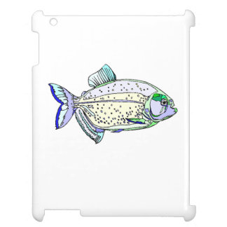 Spotted Piranha Cover For The iPad 2 3 4