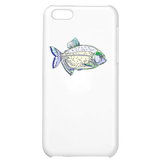 Spotted Piranha Case For iPhone 5C