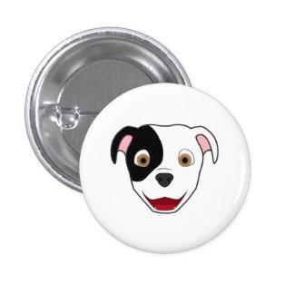 Spotted Pitbull 3 Cm Round Badge