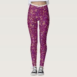 Spotted Purple Leggings