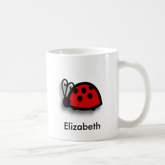 Spotted Red Ladybird Graphic Mugs