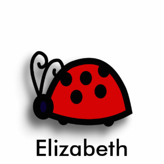 Spotted Red Ladybird Graphic Cut Outs