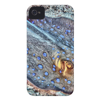 Spotted Reef Ray Case-Mate iPhone 4 Cases