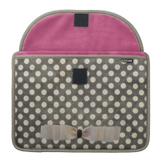 Spotted Rickshaw Flap Sleeve Sleeves For MacBook Pro