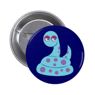 Spotted Snake 6 Cm Round Badge