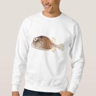 Spotted Trunkfish Vintage Fish Print Sweatshirt