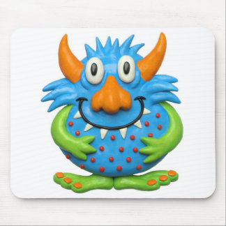 Spotted Yellow Monster Mousepads