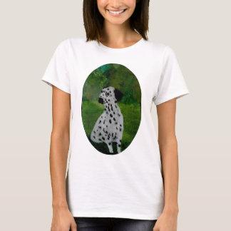 Spotty Dalmatian Dog Art T-Shirt