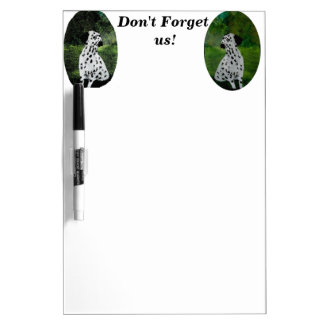 Spotty Dog Art Dalmatian Dry Erase Board