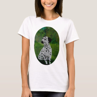 Spotty Dog Art Dalmatian T-Shirt
