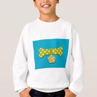 Spotty Dog Bone d.jpg Sweatshirt